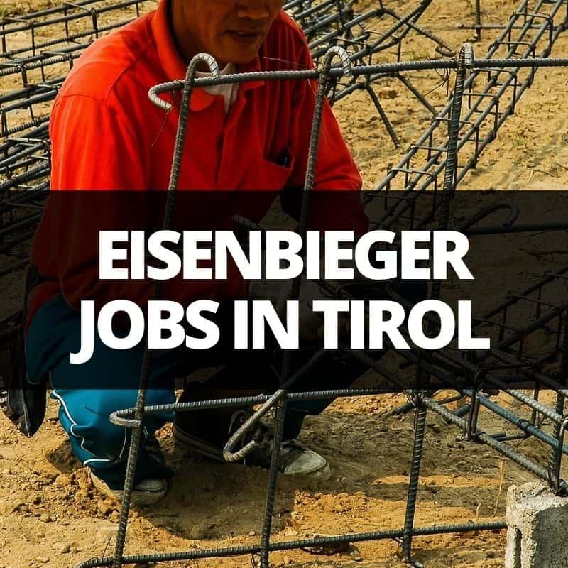 eisenbieger jobs tirol