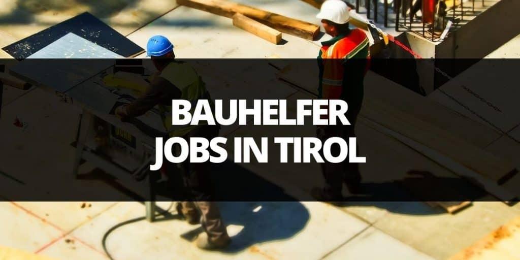 helfer job tirol