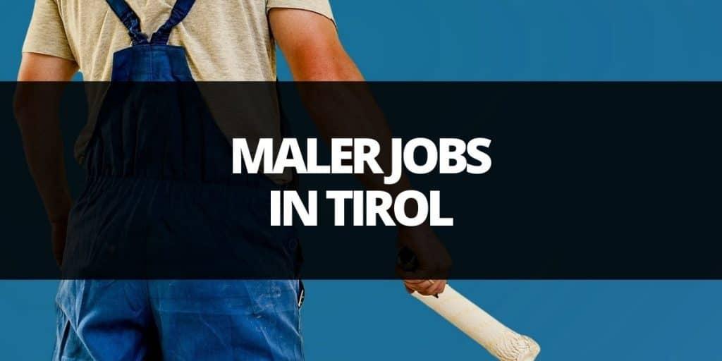 maler job tirol
